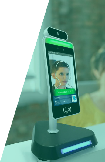Facial Recognition Thermometer Screen